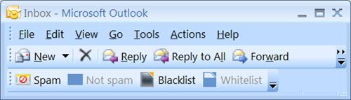 How to properly use the avast! AntiSpam Filter for Outlook